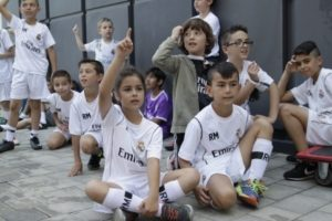 Entrenamiento valores Real Madrid