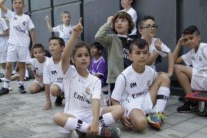 Entrenamiento valores Real Madrid