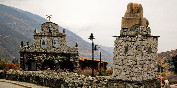 Merida iglesia de piedra