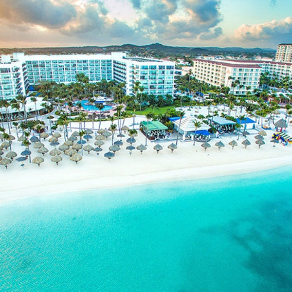 Ritz Carlton Aruba Vista Aerea