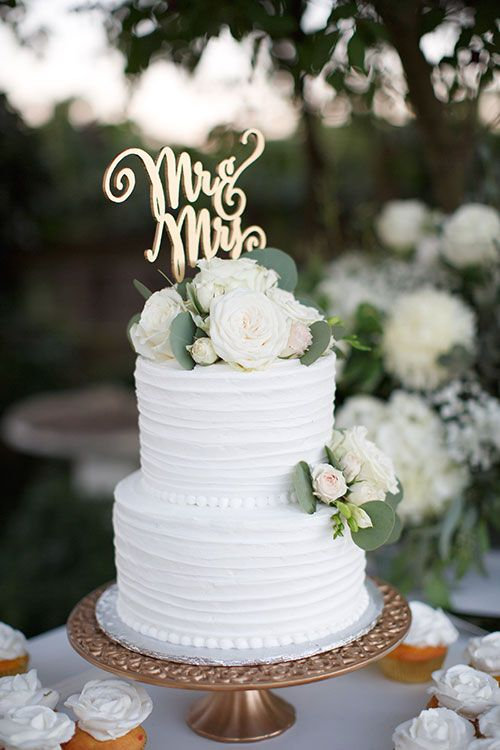 Wedding cake white