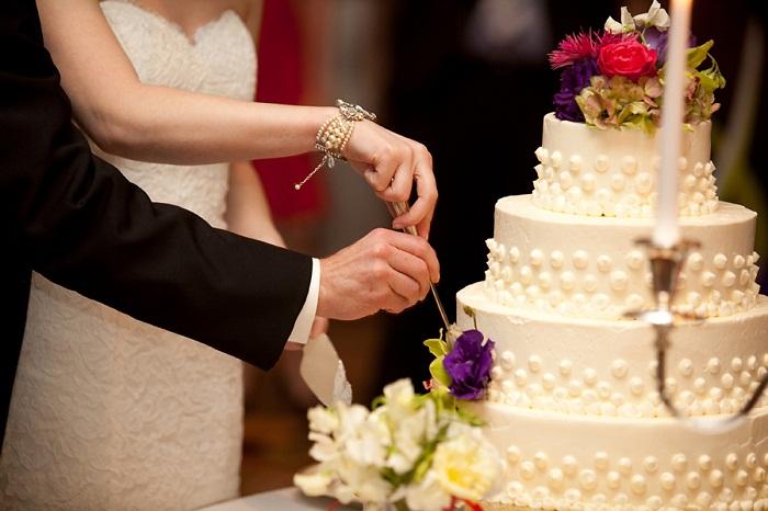 torta de bodas novios