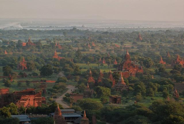 Bagan templos budistas