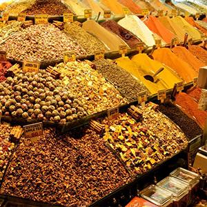 Mercados turcos especias