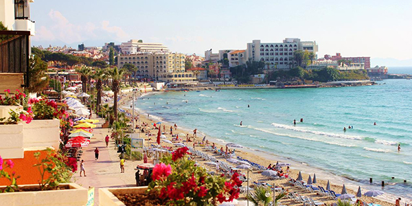 ladies beach turkia