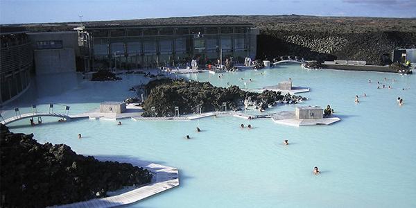 Islandia Laguna azul